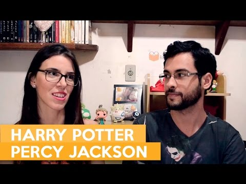 HARRY POTTER E PERCY JACKSON | Admirável Leitor