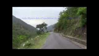 preview picture of video 'Solo Trans Himalaya Motor-Bike Expedition - 2013. By- Rajeev Kumar Mondal (1st Sample Video)'