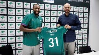 """Eyenga: """"Es muy grande venir a un equipo como el Unicaja"""""""