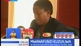 Mwanafunzi anayeshukiwa kuteketeza moto katika shule ya Moi Girls azuiliwa kwa siku saba zaidi
