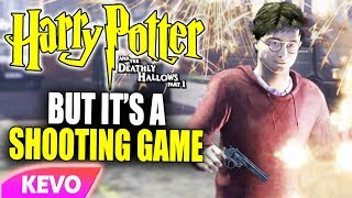 Deathly Hallows Part 1 but it's a shooting game