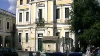 preview picture of video 'Mantzarou Rizospaston street Corfu Greece'
