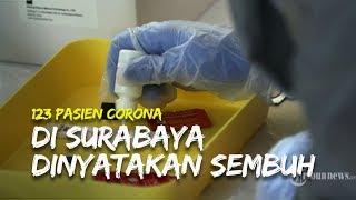 123 Pasien Corona di Surabaya Dinyatakan Sembuh