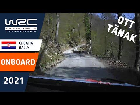 タナックのオンボード映像 WRC 2021 第3戦ラリー・クロアチア