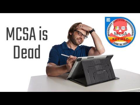The MCSA is DEAD - What Next?? | Windows Server | SQL Server ...