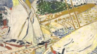 Voiliers à Collioure (Derain)