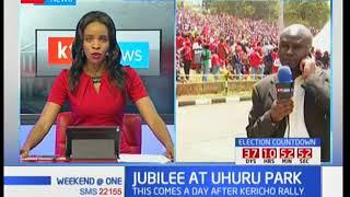 Uhuru Kenyatta to hold rally at Uhuru Park