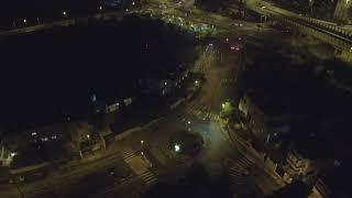 XIAOMI Mi Drone 4K. רחפן שיאומי - צולם בירושלים (צילום לילה)