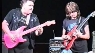 RARE JAM! ASIM CAN GUNDUZ  ( AWESOME JOHN )  AND MICHAEL ANGELO TOGETHER ON THE STAGE!