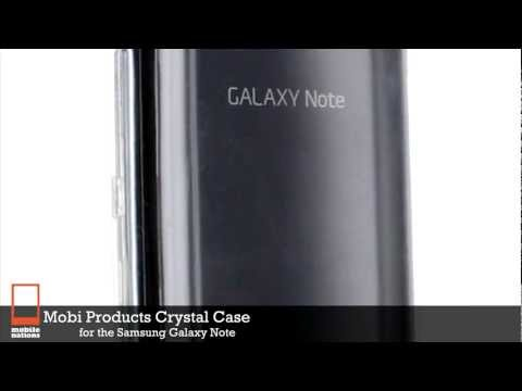 Mobi Products Crystal Case for Samsung Galaxy Note