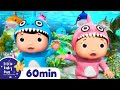 Baby Shark Dance | +More Nursery Rhymes & Kids Songs  | ABCs and 123s | Little Baby Bum