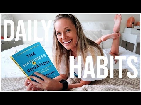 10 DAILY HABITS THAT WILL CHANGE YOUR LIFE | Productivity + Happiness