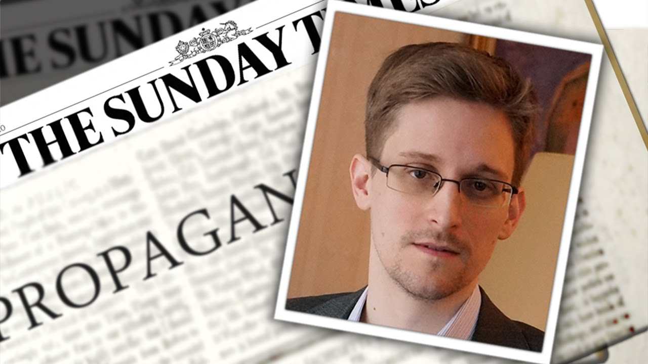 Snowden Smear Piece Sums Up Journalism's Sad State thumbnail