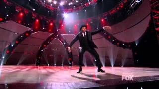 Aaron performed tap solo  So you think you can dance season 10 top 6