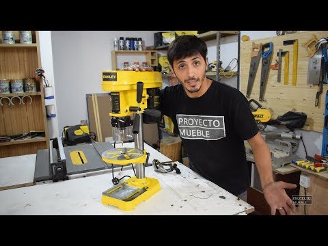 TALADRO DE BANCO STANLEY! - UNBOXING - PROYECTO MUEBLE
