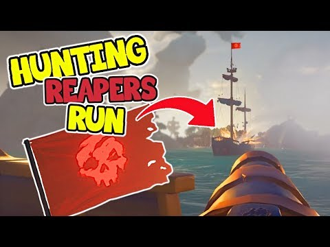 Hunting Reapers Run! - Sea of Thieves