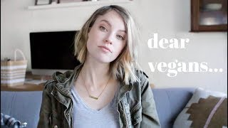 Honest Opinion On The Vegan Community & Why I Am Not Vegan