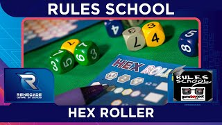 How to Play Hex Roller (Rules School) with the Game Boy Geek