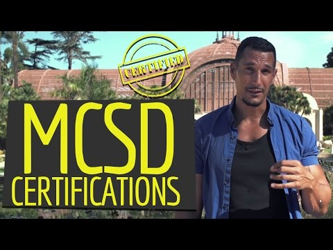 Are MCSD Certifications A Good Option? (Programmer Career Move?)