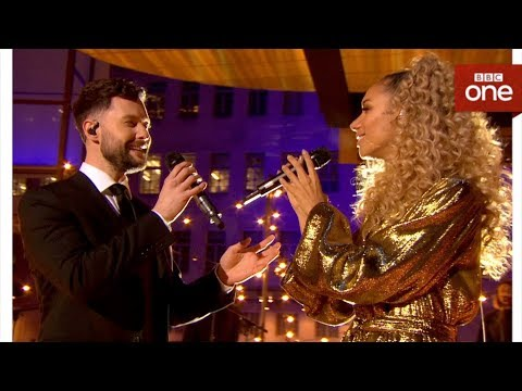 Calum Scott And Leona Lewis Duet 'You Are The Reason' Live - The One Show - BBC One