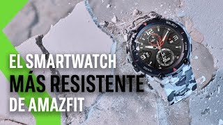 El nuevo AMAZFIT T-REX llega a España: precio y disponibilidad oficiales