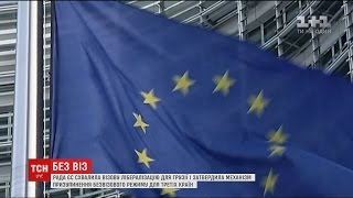 ЄС ухвалив безвізовий режим для громадян Грузії та готується розпочати переговори з Україною