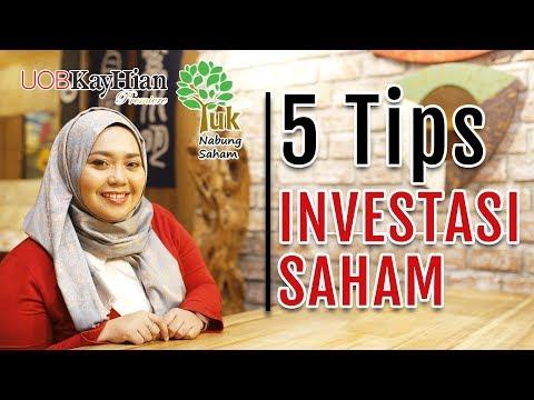 Belajar Saham : 5 TIPS INVESTASI SAHAM