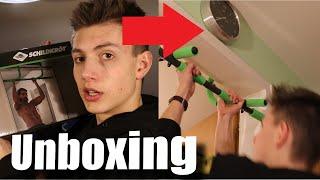 Die Schildkröt Klimmzugstange! Unboxing, Aufbau und Test! - Felixx
