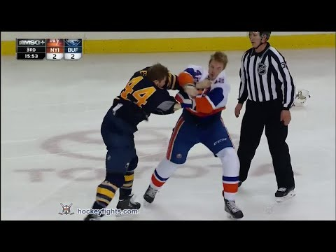 Nicolas Deslauriers vs. Scott Mayfield