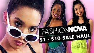 Buying the Cheapest Clothes from Fashion Nova!