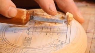 Смотреть онлайн Как сделать резьбу шкатулки из дерева своими руками