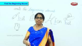 Find The Beginning Sound | Kids Educational Videos Preschool | Phonics Learning Videos
