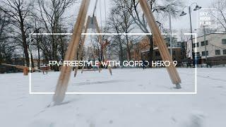 FPV CINEWHOOP FREESTYLE | GOPRO HERO 9 | REELSTEADY GO