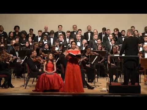 A sample of me performing in a live concert with the Queens College Choral Society and Orchestra
