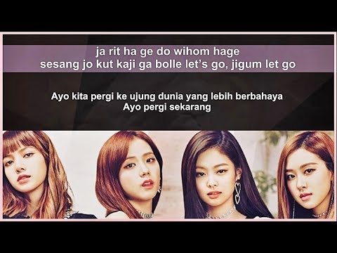 Easy lyric blackpink   forever young by gomawo  indo sub
