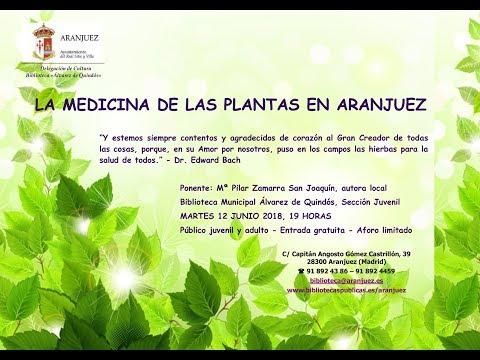 LA MEDICINA DE LAS PLANTAS EN ARANJUEZ