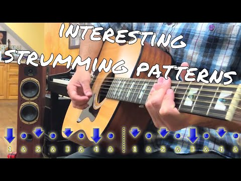 6 Cool Guitar Strum PATTERNS In Different Vibes