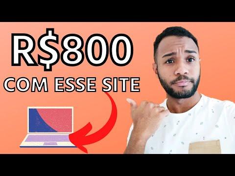 MAIS DE R$800 COM ESSE SITE | RENDA EXTRA ONLINE | COMO GANHAR DINHEIRO NA INTERNET