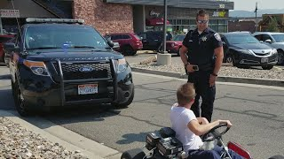 Pulled over by the Police in my Go-Kart  **emotional**