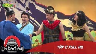Đại Náo Thành Takeshi | Tập 2 Full HD | Hóa nữ hoàng, Trấn Thành vẫn tưởng Hương Giang là đàn ông