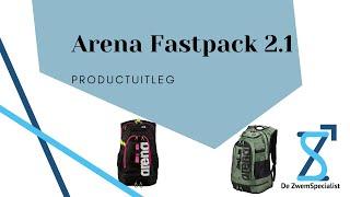 De ZwemSpecialist   Product uitleg Arena Fastpack 2.1 Backpack