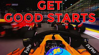 HOW TO GET GOOD STARTS IN F1 2018