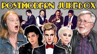 ELDERS REACT TO POSTMODERN JUKEBOX (Vintage style Justin Bieber and Drake?!)