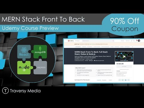 Udemy Course Alert - MERN Stack Front To Back
