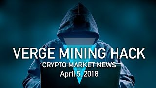 Verge XVG Mining Network HACKED With Spoofed Timestamps [Cryptocurrency News]