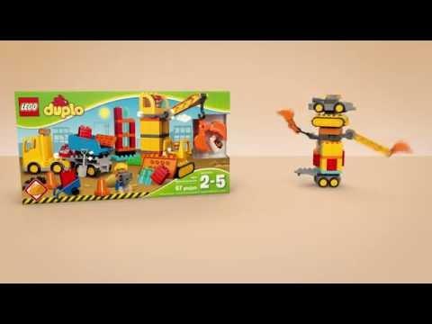 Vidéo LEGO Duplo 10813 : Le grand chantier