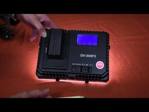 Aputure Amaran DV 300F2, illuminatore LED per video e foto, test