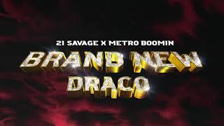 Musik-Video-Miniaturansicht zu Brand New Draco Songtext von 21 Savage & Metro Boomin