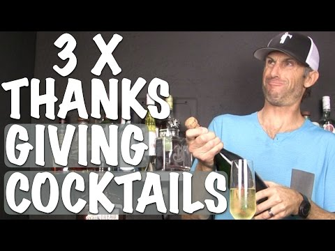 Video 3 x THANKSGIVING DRINK RECIPES - Bartending Pro