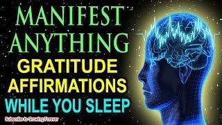 Manifest With Sleep Programming & Gratitude Affirmations, Attract Wealth & Abundance While You Sleep